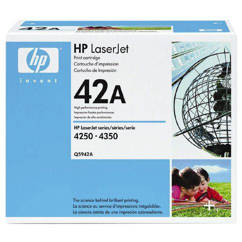 HP Toner 42A Black