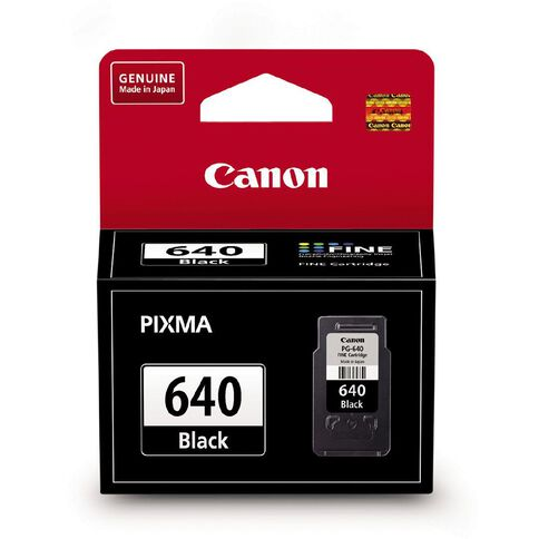 Canon Ink Cartridge PG640 Standard Black