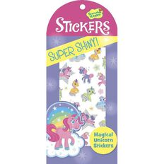 Peaceable Kingdom Stickers Glitter & Foil Magical Unicorns