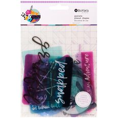 Rosie's Studio Here & Now Acetate Diecuts 24 Piece