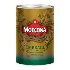 Moccona Embrace Utz Certified Freeze Dried Coffee 500g