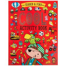 Search and Find Cool Activity Book