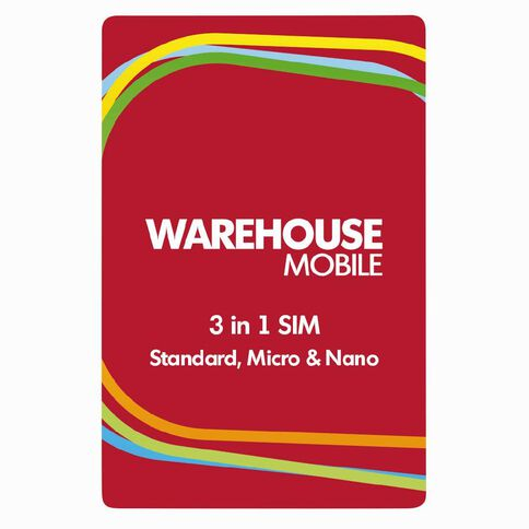 Warehouse Mobile Multi SIM Red