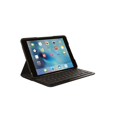 Logitech Focus Keyboard Case For iPad Mini 4 Black