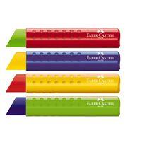 Faber-Castell Tri Eraser Assorted