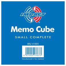 Impact Memo Cube Half Size Complete