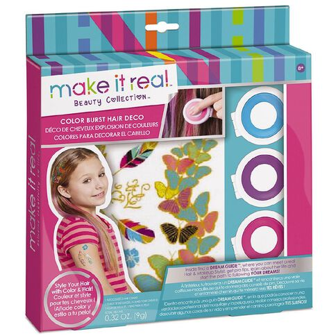 Make It Real Kit Colour Burst Hair Deco