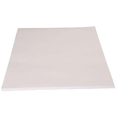 Unruled Pad 70gsm Bond White A4