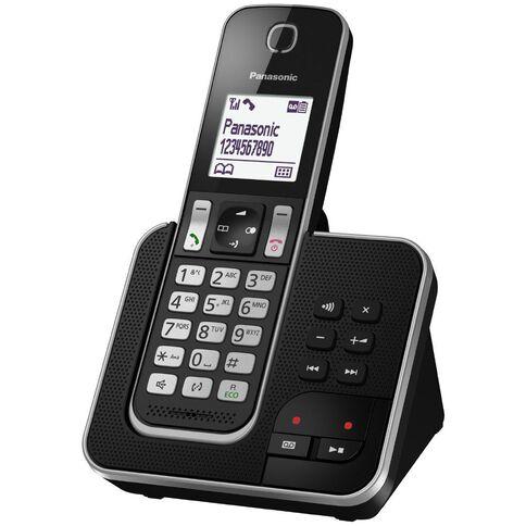 Panasonic Kx-Tgd320Nzb Cordless Phone Black