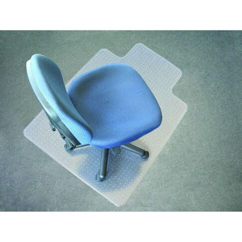 Jastek Chairmat Low Pile 91 x 122cm White