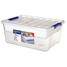 Sistema Storage Organiser 7.9L Clear