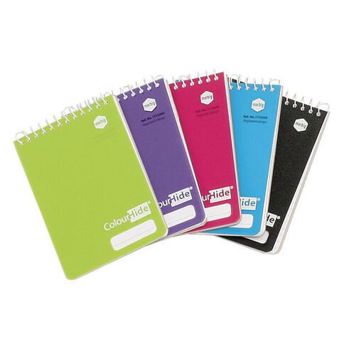 ColourHide Pocket Notebook Assorted Colours Assorted