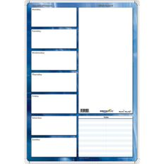Writeraze Weekly Planner Qc3 350 x 500mm White