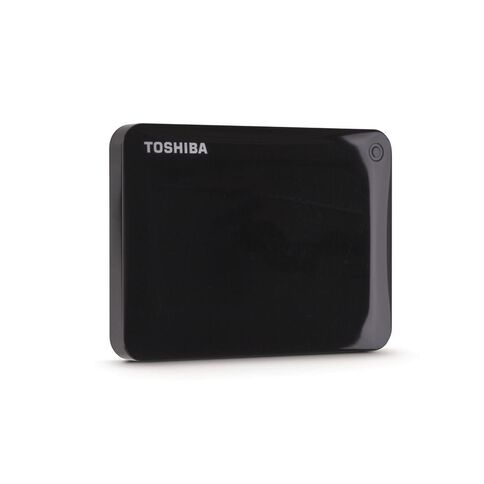 Toshiba 2TB Canvio Connect II Hard Drive Black