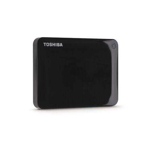Toshiba 1TB Canvio Connect II Hard Drive Black