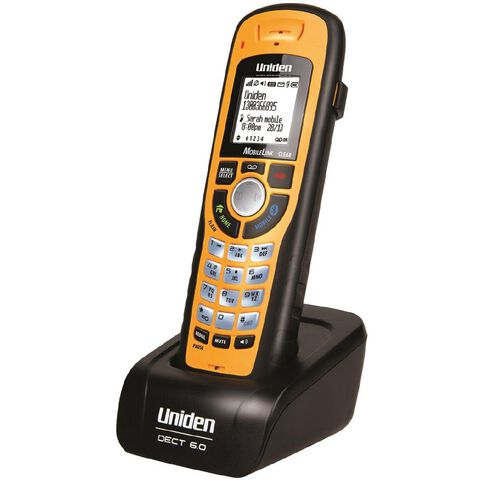 Uniden Xdect8305Wp Additional Handset Yellow