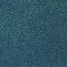American Crafts Cardstock Glitter Medium 12 x 12 Neon Blue