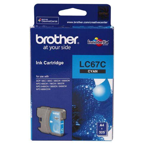 Brother Ink Cartridge LC67 Cyan
