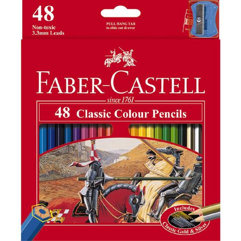 Faber-Castell Coloured Pencils Classic Full 48 Pack