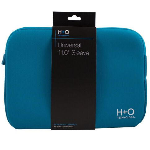 H+O Technology 11.6 inch Laptop Sleeve Blue