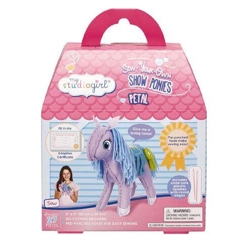 My Studio Girl Show Pony Craft Kit Petal