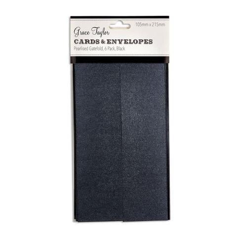Grants GT Cards & Env Gfold 105x215 Prl 6Pk Cha