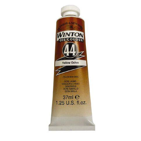 Winton Oil Paint 37ml Ochre Yellow