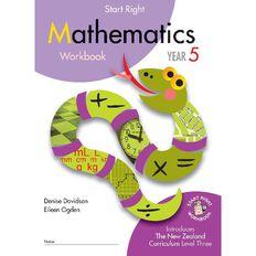 Mathematics Year 5 Start Right Workbook by D Davidson & Eileen Ogden