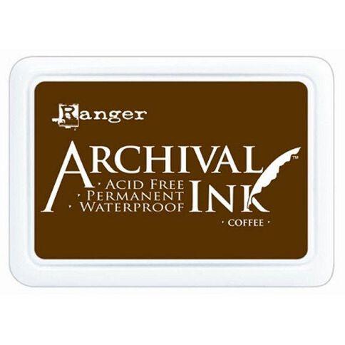 Ranger Stamp Pad Coffee