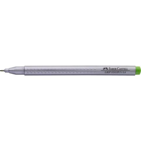 Faber-Castell Grip Finepen 0.4mm Grass Green