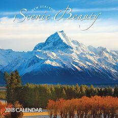 Scenic Beauty 2018 Calendar