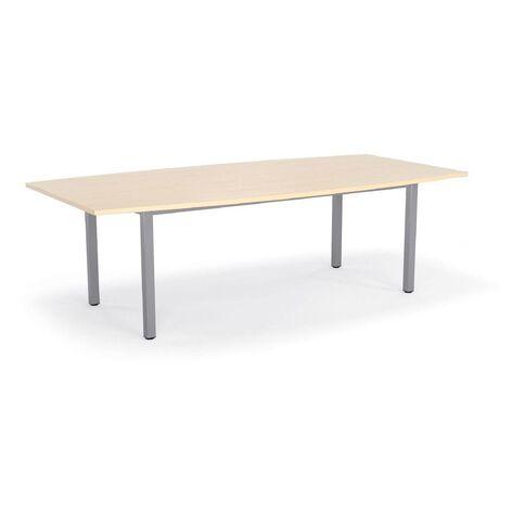 Cubit 2400 Boardroom Table Nordic Maple
