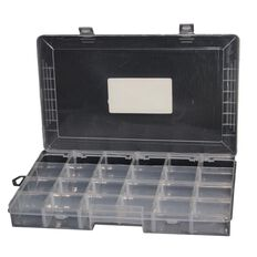 Sullivans Storage Box Plastic 24 Slot Clear