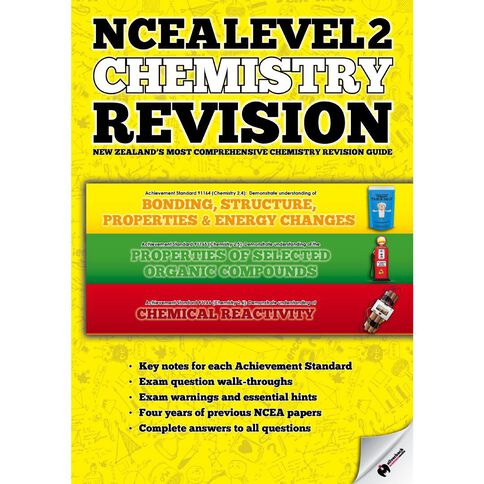 Ncea Year 12 Scipad Chemistry Revision