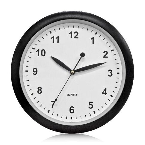 Effects Wall Clock 30cm Black
