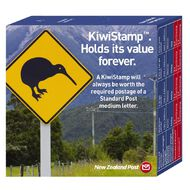 New Zealand Post Kiwistamp Dispenser Box 100 Pack