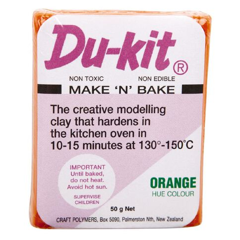 Du Kit Clay 50g Orange