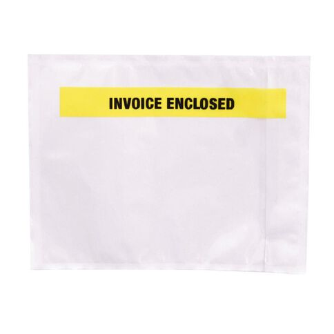 Packing Labelopes Invoice Enclosed 1000 Pack White
