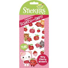 Peaceable Kingdom Stickers Scratch N Sniff Very Cherry