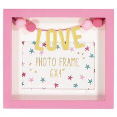 Kookie Love Photo Frame Pink
