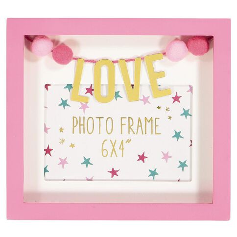 Kookie Love Photo Frame Pink