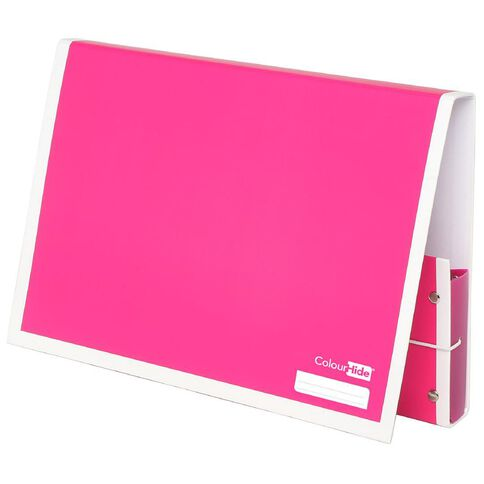 ColourHide Document Box Pink A4