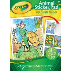 Crayola Activity Sticker Pad
