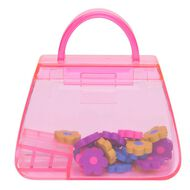 Kookie Handbag Sharpener With Erasers Pink