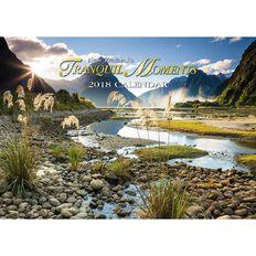 2018 Calendar Tranquill Moments Booklet