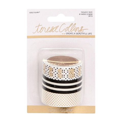 Teresa Collins Premium Washi Tape 3 Piece