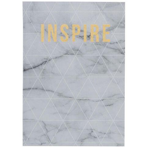 Banter Inspire Hardcover Notebook A4
