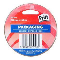 Pritt Packaging Tape Brown 48mm x 50m Brown