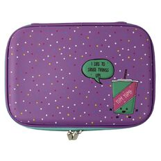 Kookie Shake Hardtop Pencil Case Purple