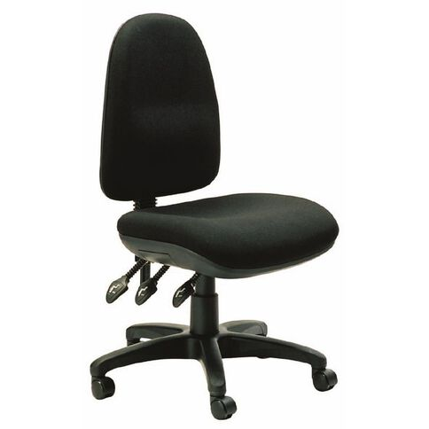 Dawell Halo Highback Chair Black